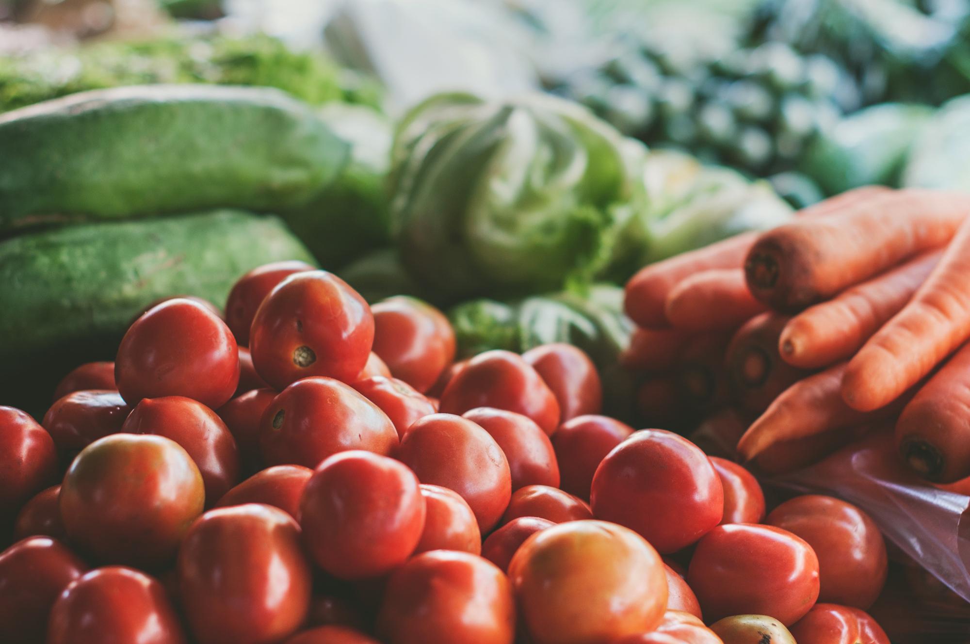low FODMAP fruit veg options