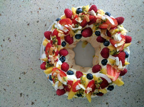 ashleigh jones brisbane dietitian nutritionist low fodmap pavlova dessert